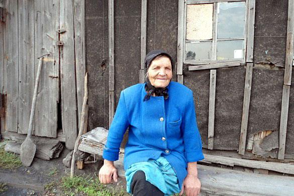 Анна Городецкая, бывшая узница.