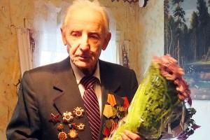 Ветеран Великой Отечественной войны Ештокин Сергей Яковлевич.