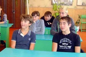 В Губкинской средней школе прошел необычный классный час.