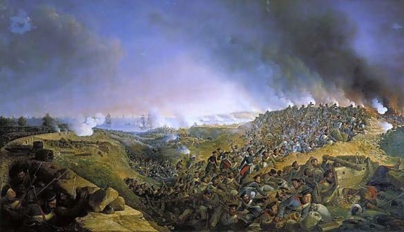 Осада Варны 1828 года (картина Александра Зауэрвайда, 1836 год).