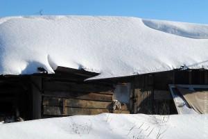 Столько снега выпало на первую половину декабря 2012 года в Малоархангельске.