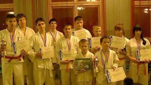 Малоархангельские каратисты в числе призеров.