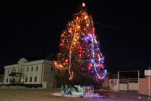 Новогодняя ёлка 2013 года в Малоархангельске.