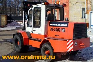 Продукция ЗАО «Малоархангельский машиностроительный завод» — погрузчик вилочный ПВ-50031