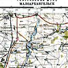 Карта Генштаба, лист N-37-31. 1942 г. Малоархангельск.