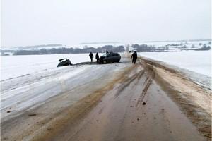 На трассе Малоархангельск-Глазуновка погибли два человека.