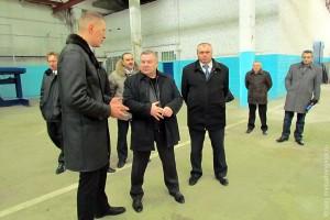 Александр Козлов на Малоархангельском машиностроительном заводе.