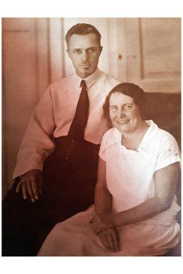 Владимир Васильевич Ченцов с женой