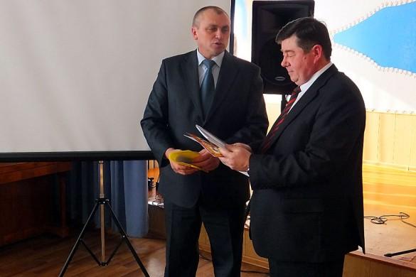 Слова поздравлений сказал глава Малоархангельского района Юрий Маслов.
