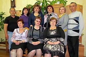 Коллектив малоархангельской районной газеты «Звезда».