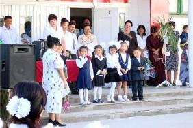 Школа имени Манзуса Ванахуна в селе Милянфан.