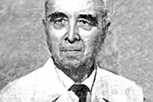 Участник Курской битвы Николай Немцев.