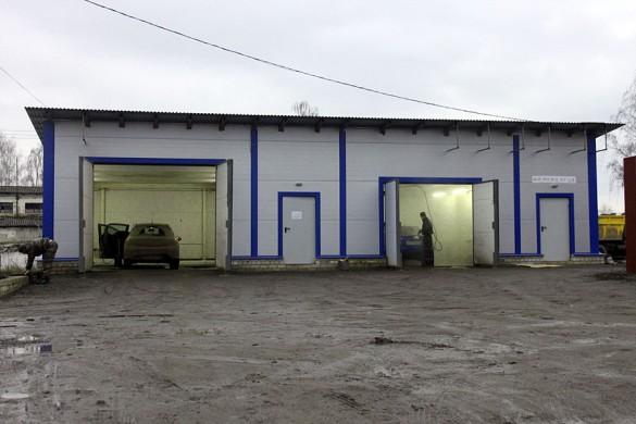 Автомобильная мойка в Малоархангельске.