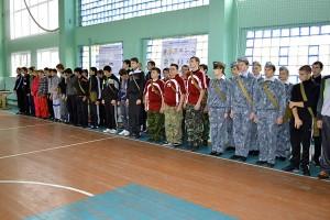 Конкурсные мероприятия в рамках «Областного Дня допризывной молодежи» в Малоархангельском районе под девизом «Будь готов к защите Родины!».