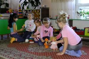 В детском саду посёлка Станция Малоархангельск.