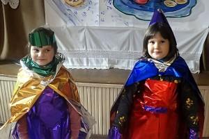 Участниками праздника Сушки стали ученики первых классов.