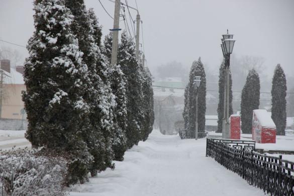 Снежная дорожка.