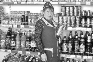 Продавец Светлана Русанова.