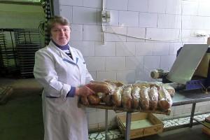 Директор Малоархангельского хлебокомбината Людмила Тимошина.