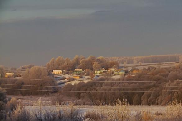 Небо над Малоархангельском. Или Александровкой.
