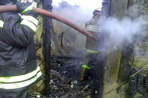 Пожар в Фёдоровке.