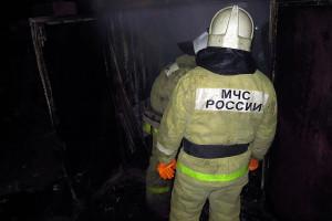 Пожар в Губкино.