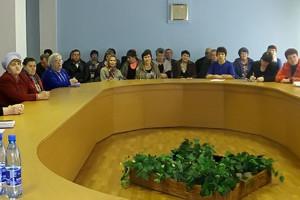 В малом зале администрации района состоялся пленум Малоархангельского районного совета ветеранов войны, труда, вооруженных сил и правоохранительных органов.
