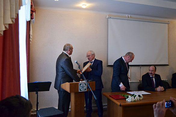 Успехи ООО «Дубовицкое» были высоко оценены руководством района.
