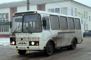 Автобус в Малоархангельске.