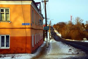 Улица Советская в Малоархангельске.