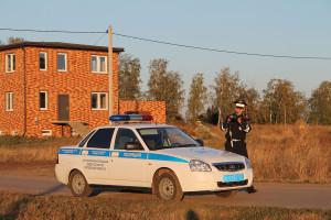 Сотрудник ОГИБДД ОМВД России по Малоархангельскому району.