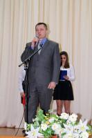 Выступает начальник отдела образования, молодёжной политики, физической культуры и спорта Кусков Александр Владиславович.
