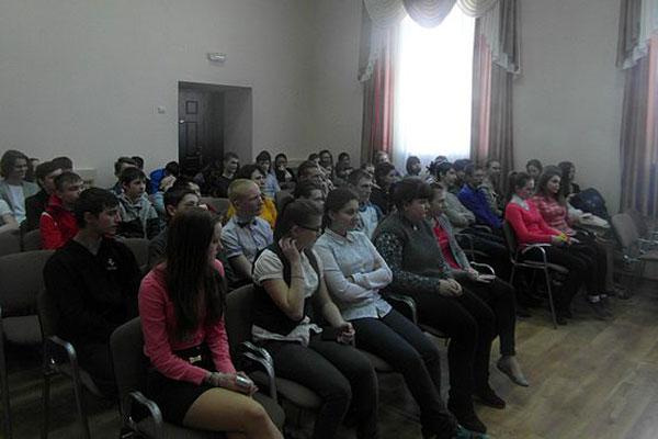 Мероприятие «Трезвость — патриотизм современности» с учащимися 8-11-х классов МБОУ «Малоархангельская средняя школа № 2».