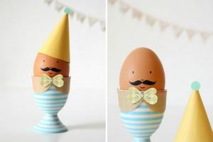 ostereier-gestalten-osterdeko-basteln-ideen-lustige-eierbecher (1)