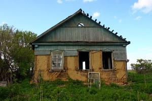 Старый дом в Семёновке.