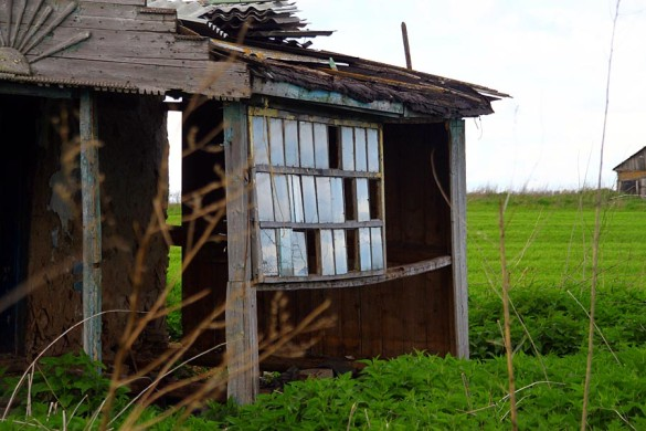 Вернада брошенного дома