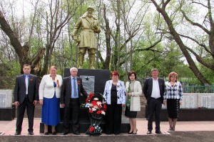 День памяти героев Великой Отечественной в Удереве.