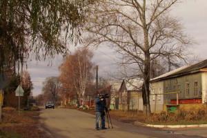 Съемки ОТВ в Малоархангельске.