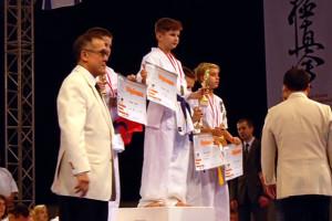 Каратист Вячеслав Кузин из Малоархангельска завоевал первое место на кубке Европы.