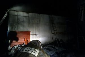 Пожар на станции Малоархангельск.