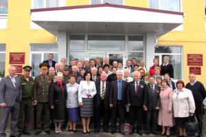Выездной семинар представителей областных, городских и районных советов ветеранов войны, труда, Вооружённых сил и правоохранительных органов в Малоархангельском районе.