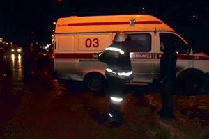 Водитель автомобиля Ниссан Максима не справился с управлением и допустил опрокидывание автомобиля в кювет.