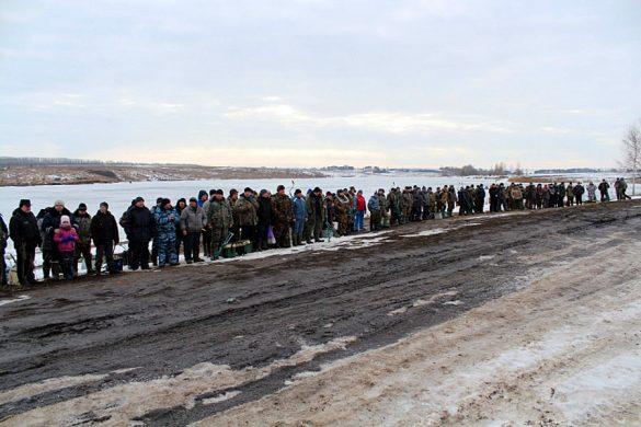 Соревнования по зимней рыбалке.