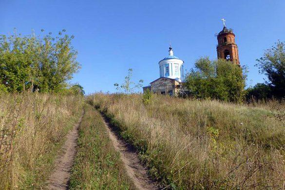 Покровская церковь села Лески.