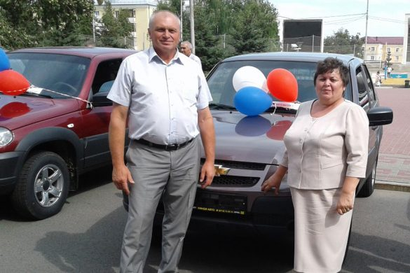 Малоархангельский район стал обладателем нового автомобиля