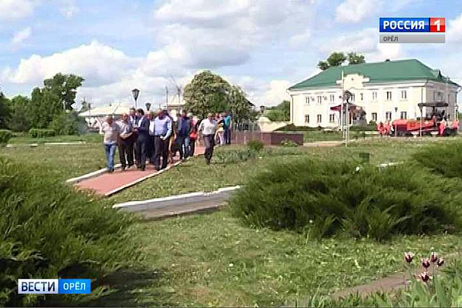 В Малоархангельске обсудят вопросы развития парковой зоны «Ревизор»