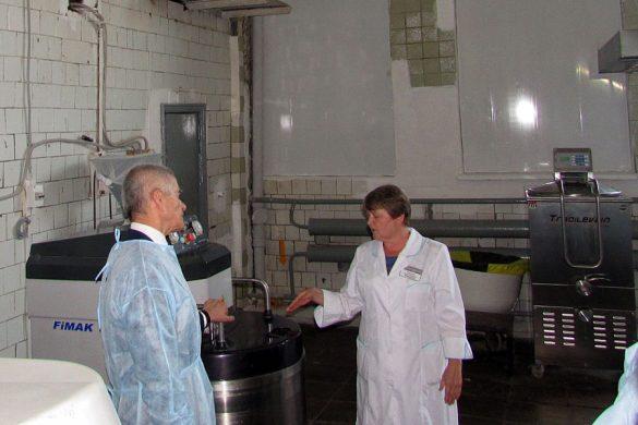 Онищенко на Малоархангельском хлебозаводе