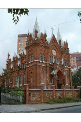 Католический костёл в Курске (современный вид)