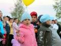 Дети побольше передвигались мелкими группами по 5-8 некрупных детей.