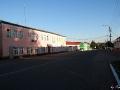 Центральная часть города Малоархангельска, утро